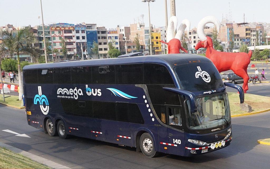 megabus en lima